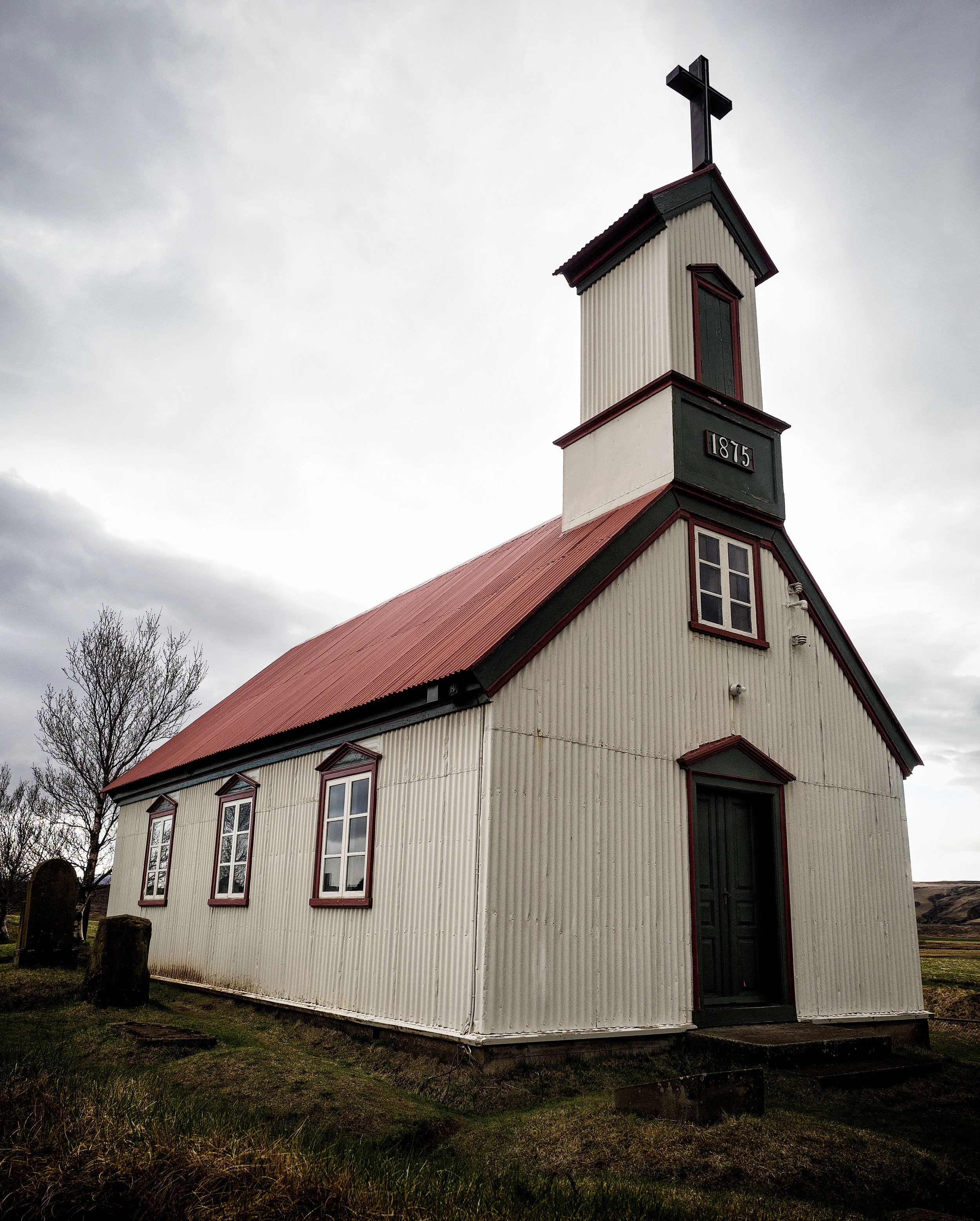 Traditional Icelandic Church... this one is particularly old