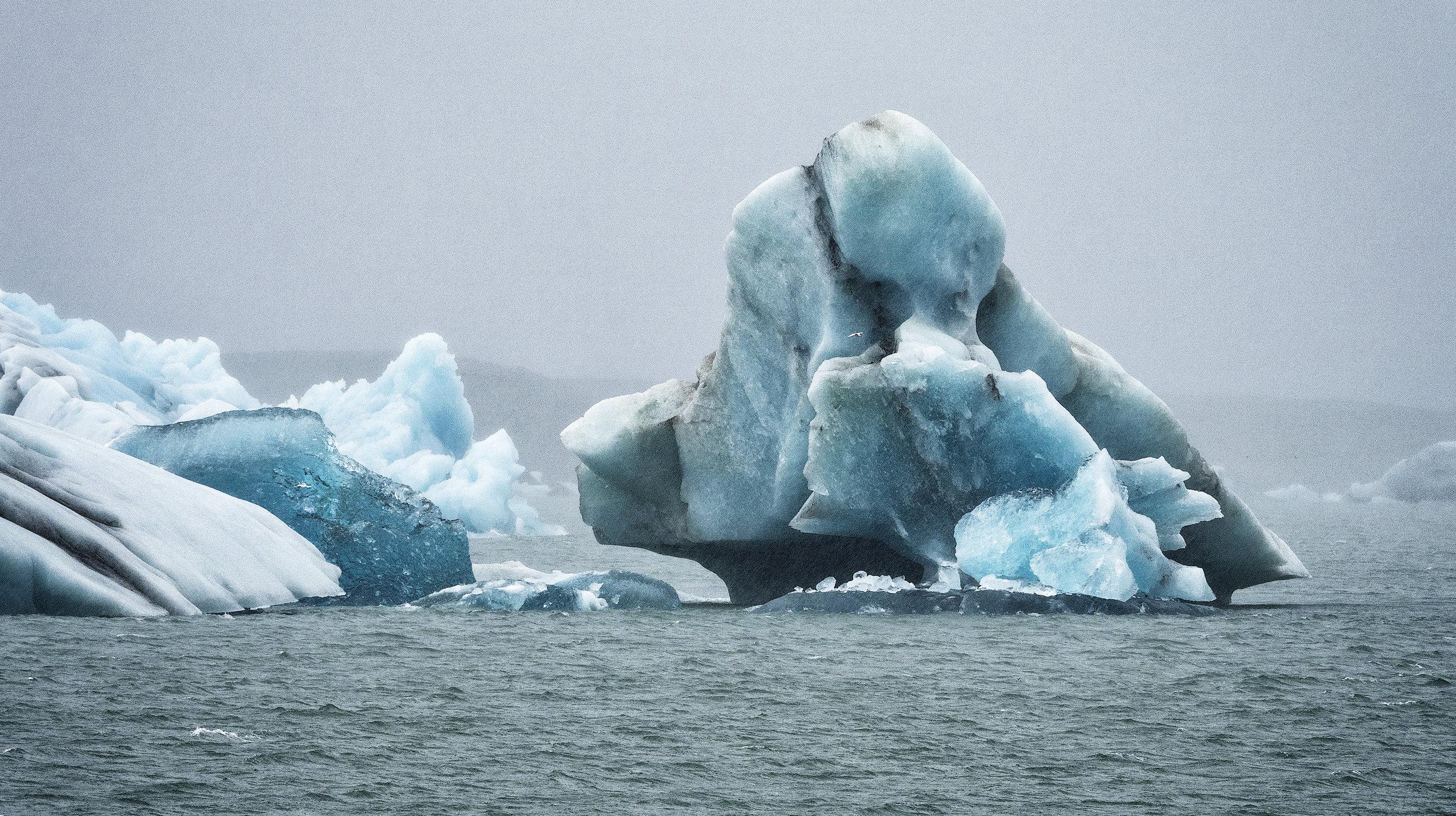 Iceberg, 15 years in the making, in Jokulsarlon
