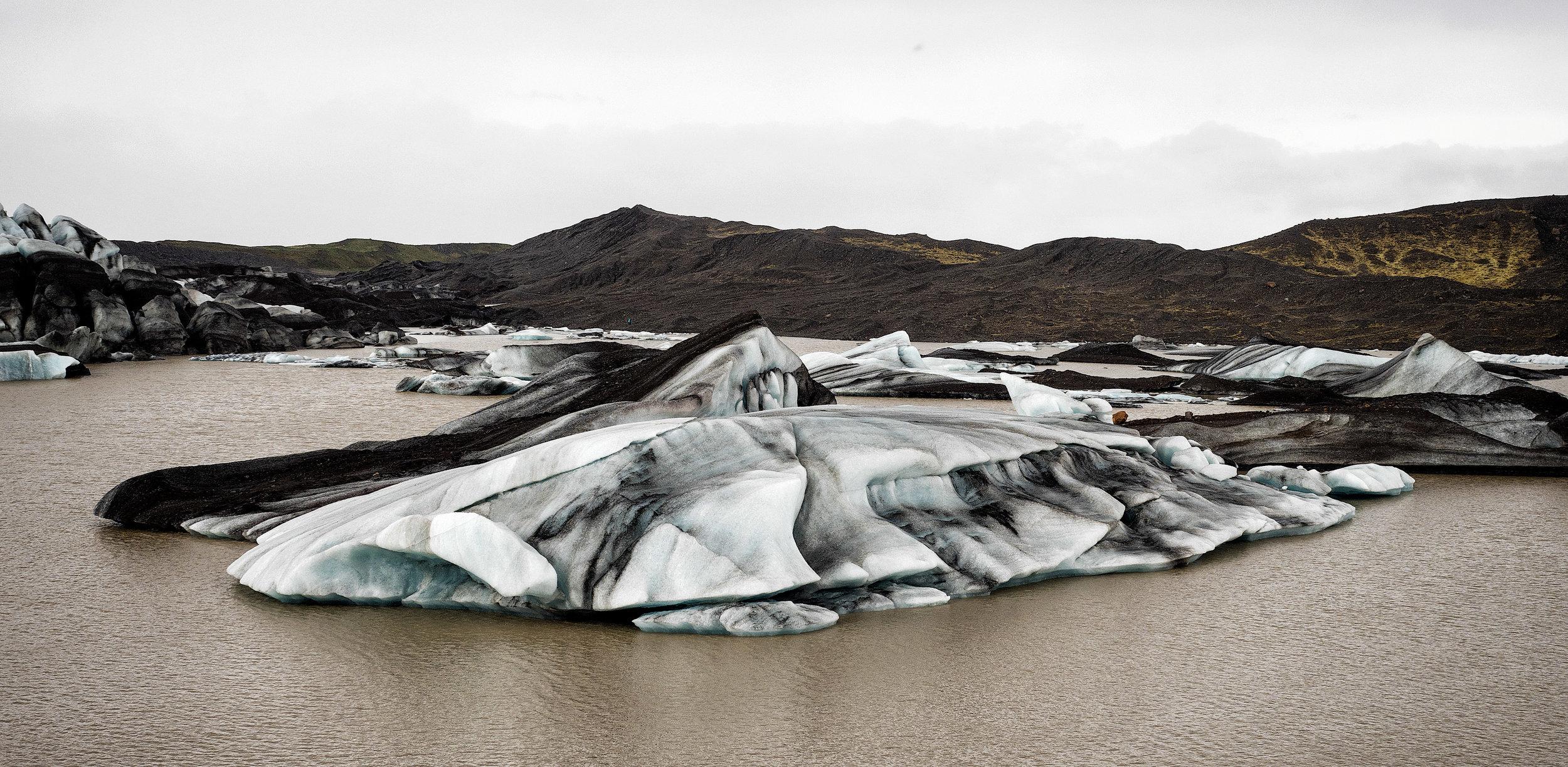 Another broken piece of Glacier