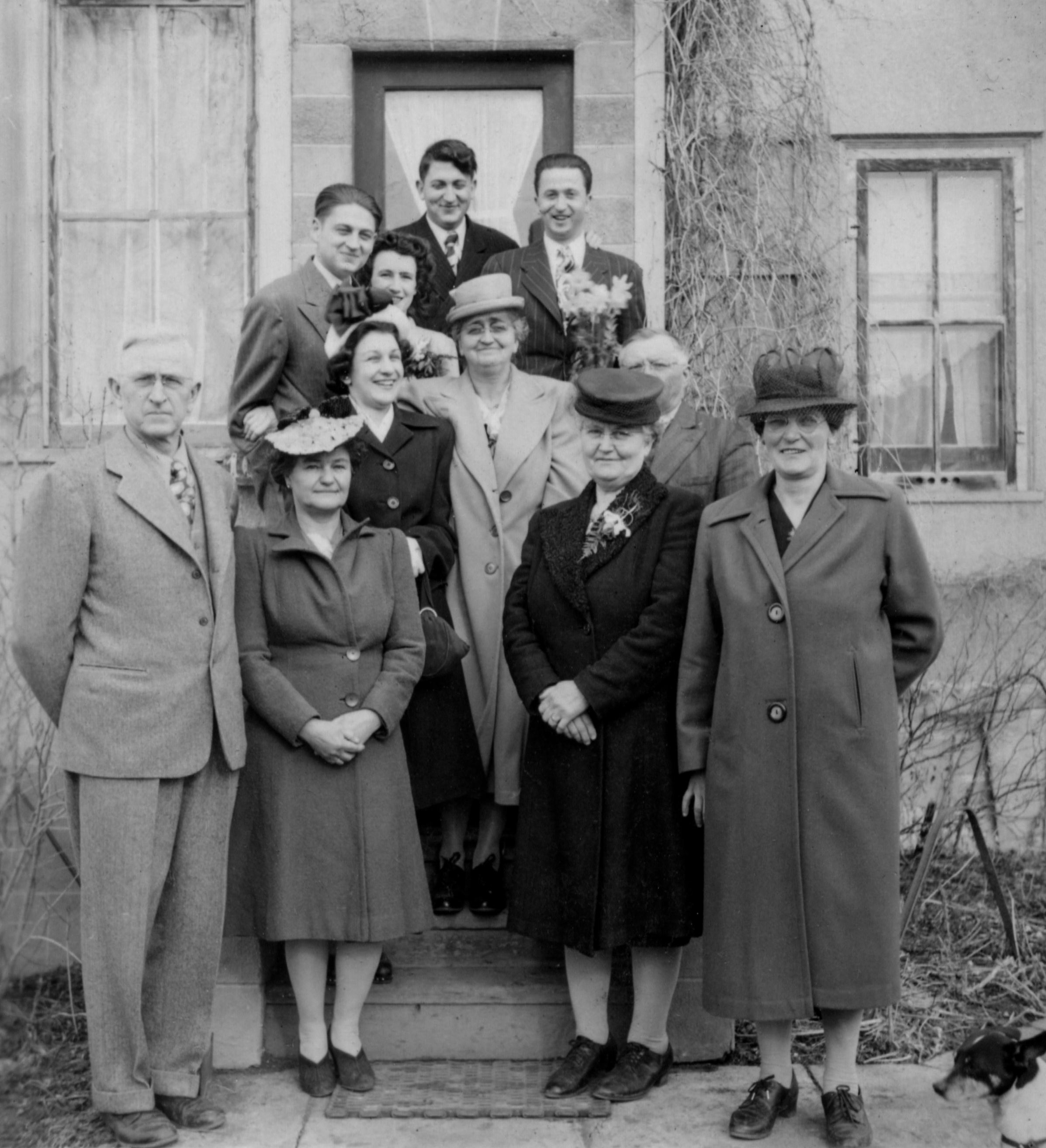 My wife's family probably in the 1940's