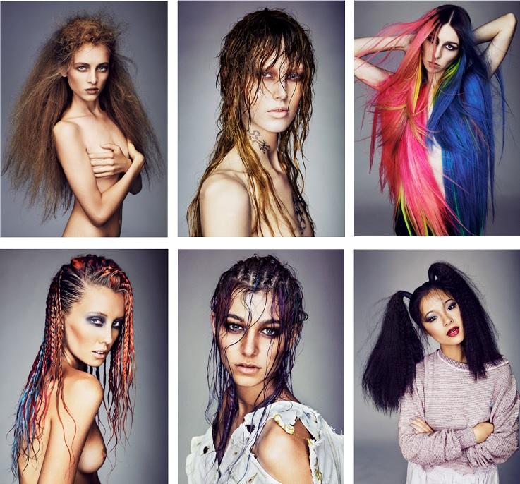 Salon Team - Head Studio - Photographer: Steven CheeStylist: Daniel James Waite RomaninMake-up: Hendra Widjaja