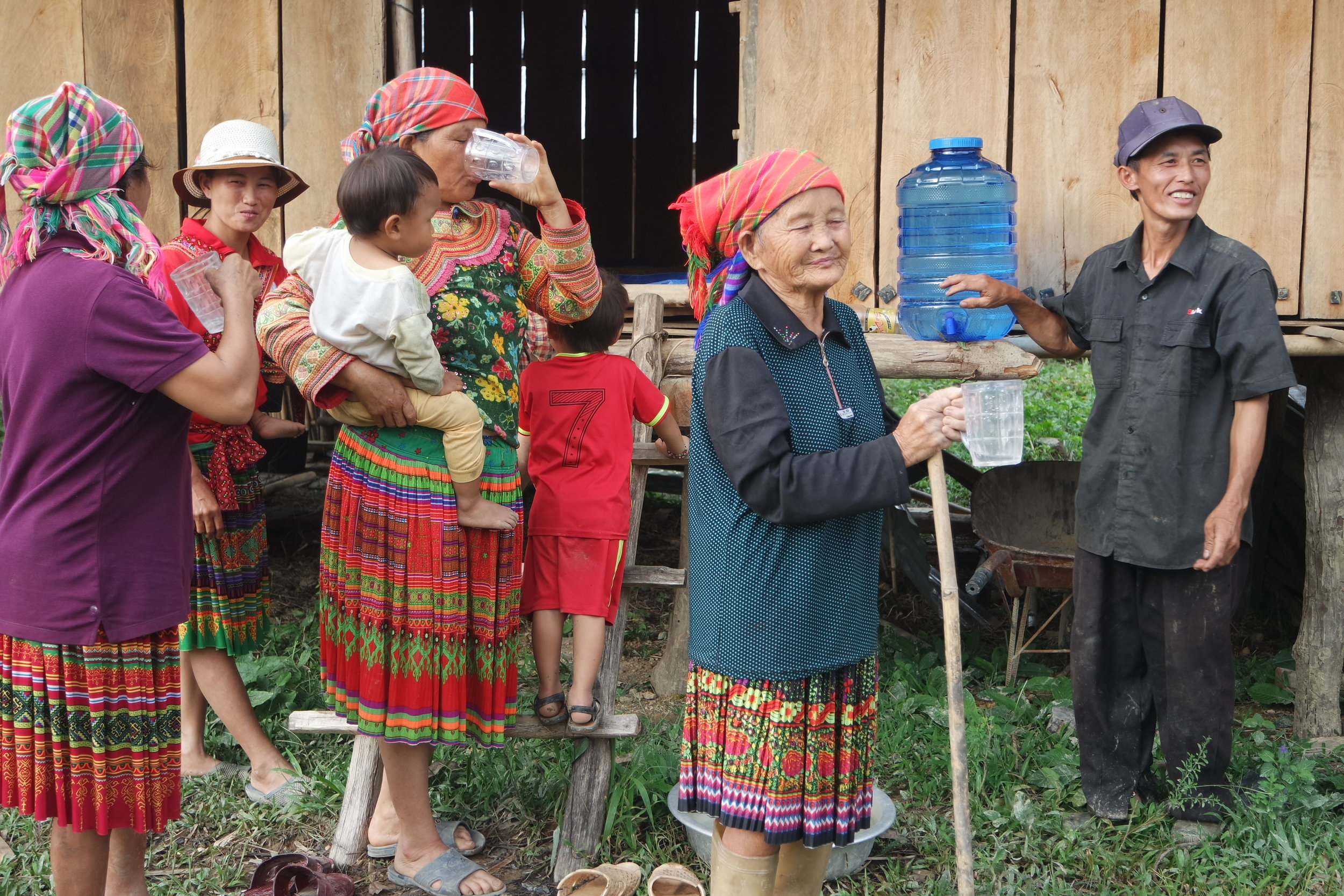 In the central highlands of Vietnam Solar PV is also supplying remote villages with clean water.