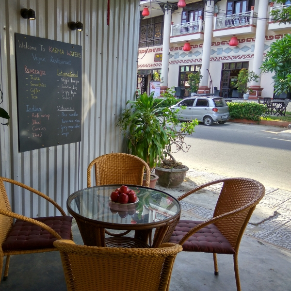 A place to enjoy great vegan dishes in Hoi An.