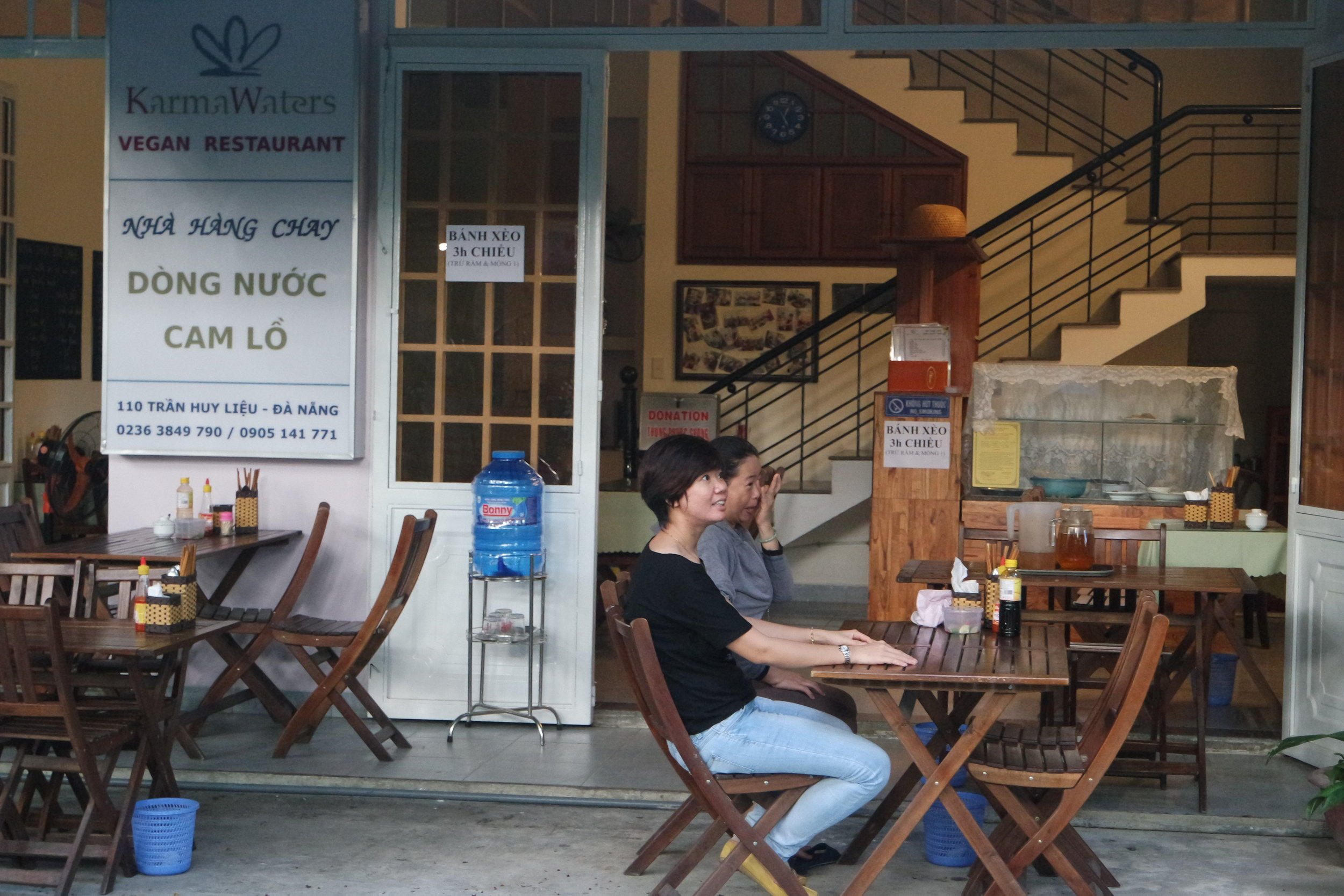 Karma Waters restaurant in Danang is the centre of the charity work.