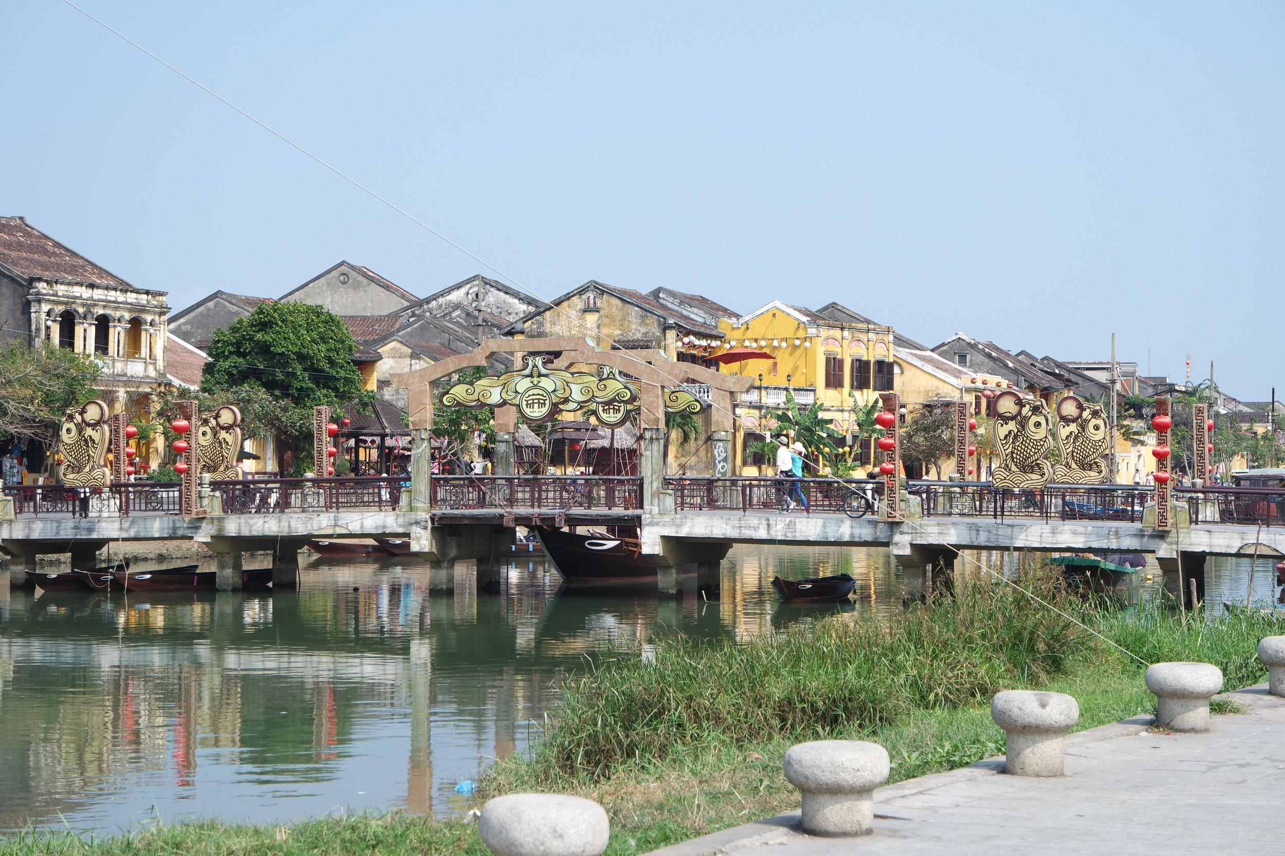 Hoi An's beautiful riverside.