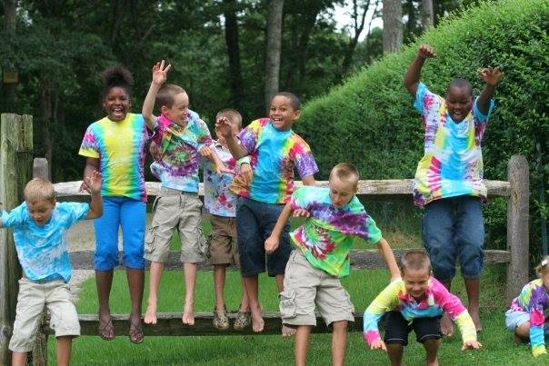 Students at the Summer Camping Program through The Fresh Air Fund.