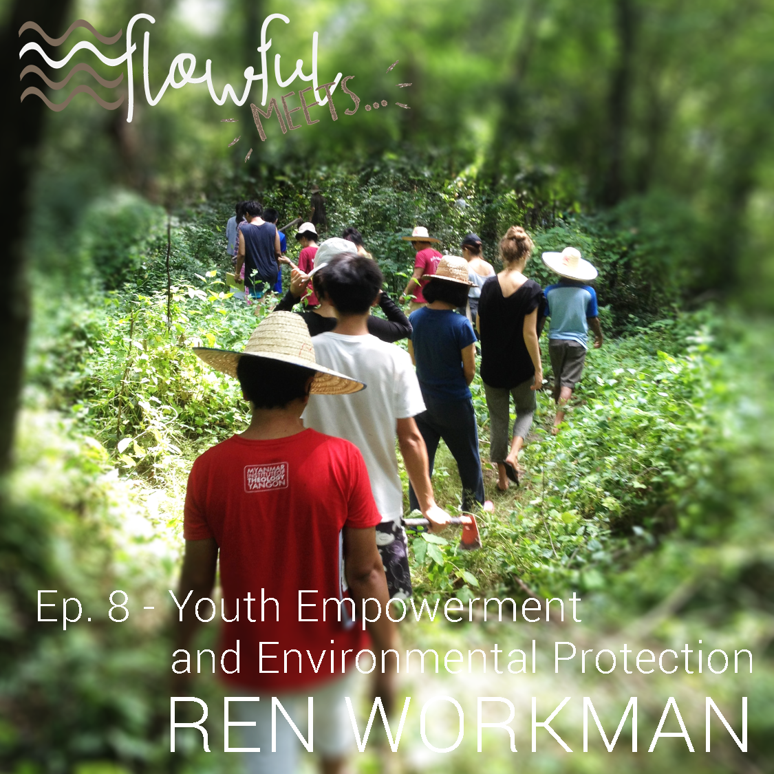flowful meets Ren Workman youth empowerment