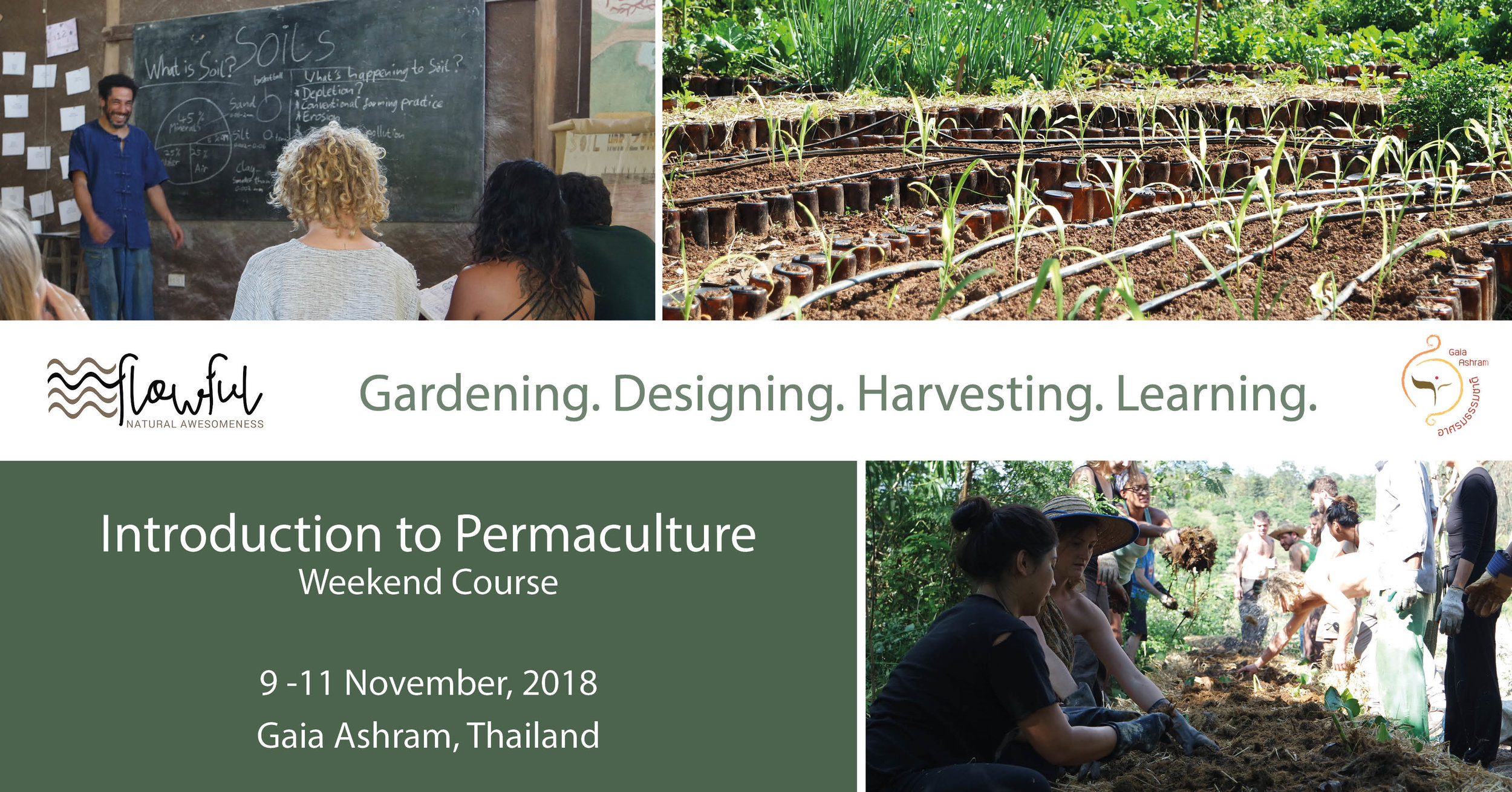Introduction to Permaculture, Thailand