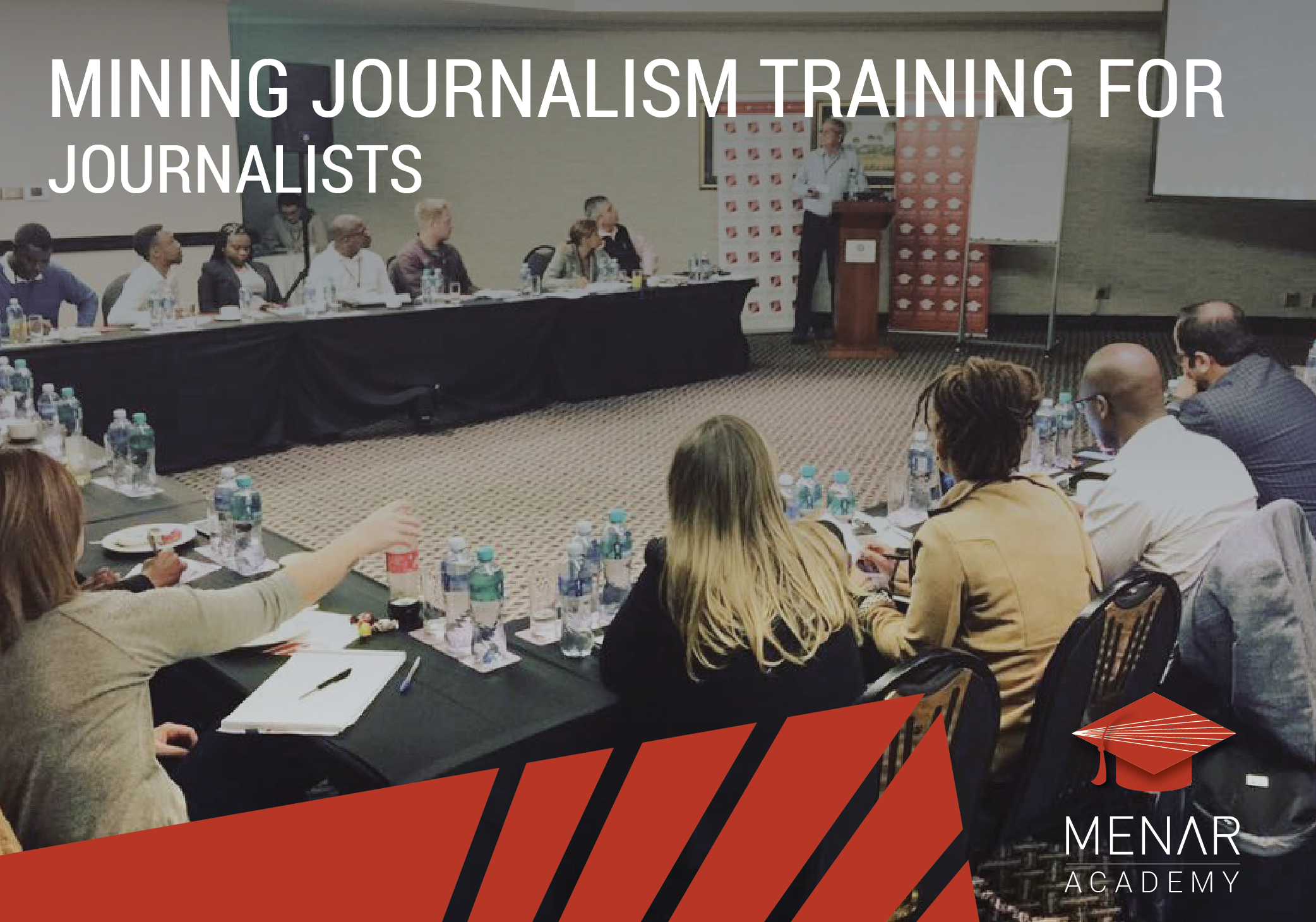 MINING JOURNALISM TRAINING FOR JOURNALISTS  Mining experts and senior journalists lectured for mining journalism...   Instagram   Facebook