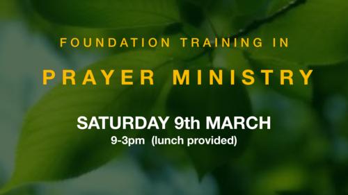 Prayer Ministry — Woodlands Church