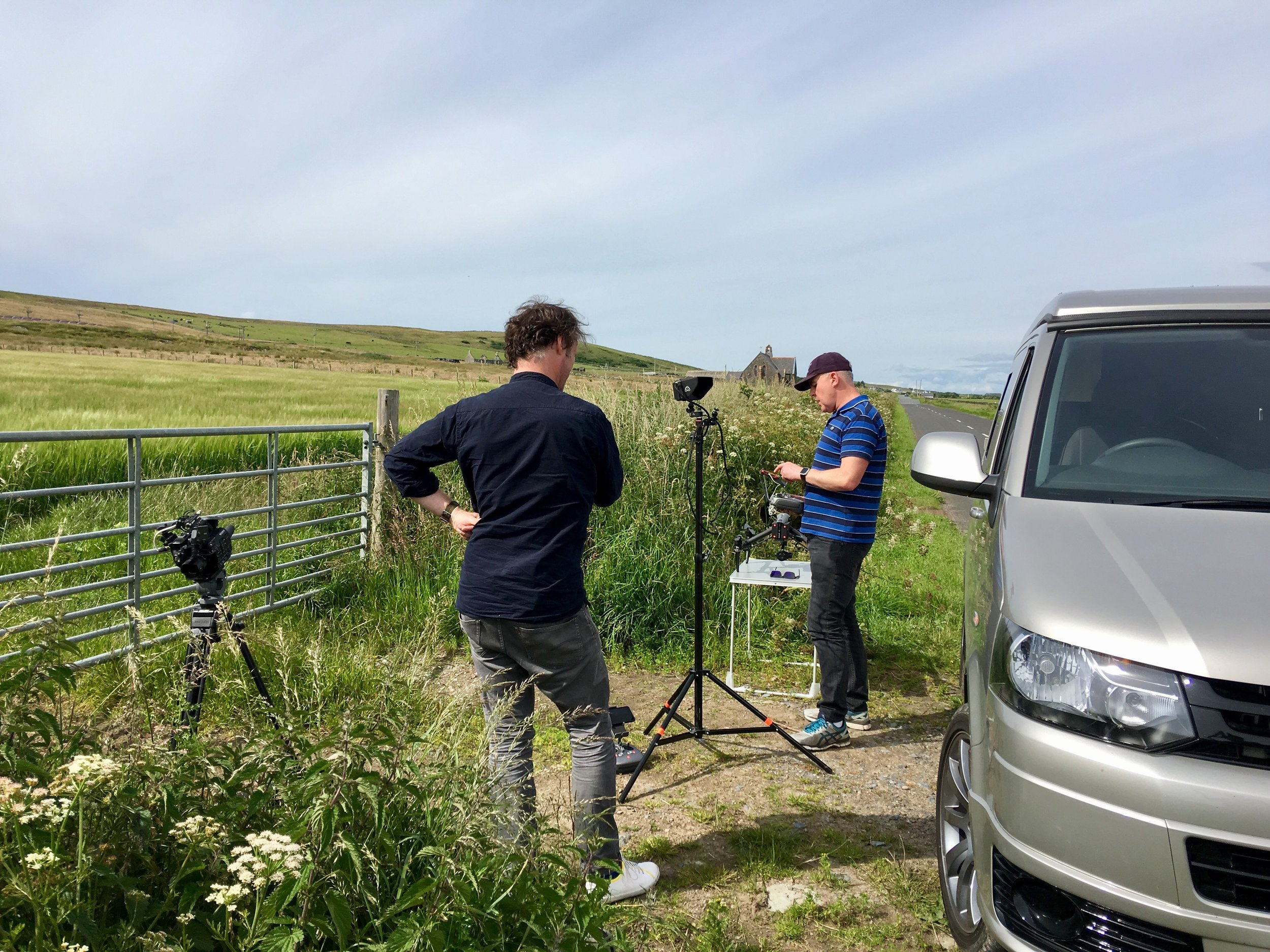 On Islay working for MakerTV - June 2017