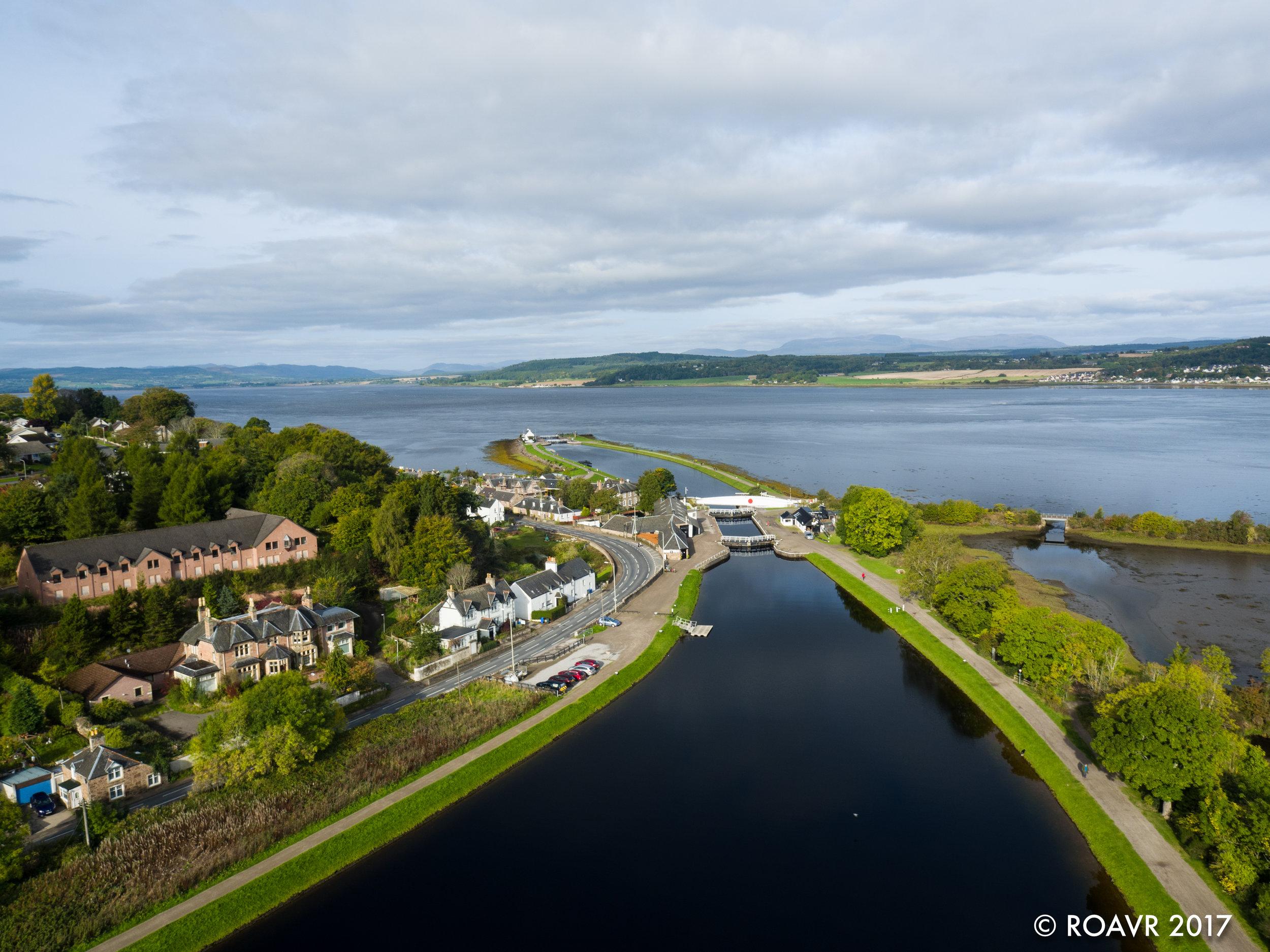 Clachnaharry Sea Lock.