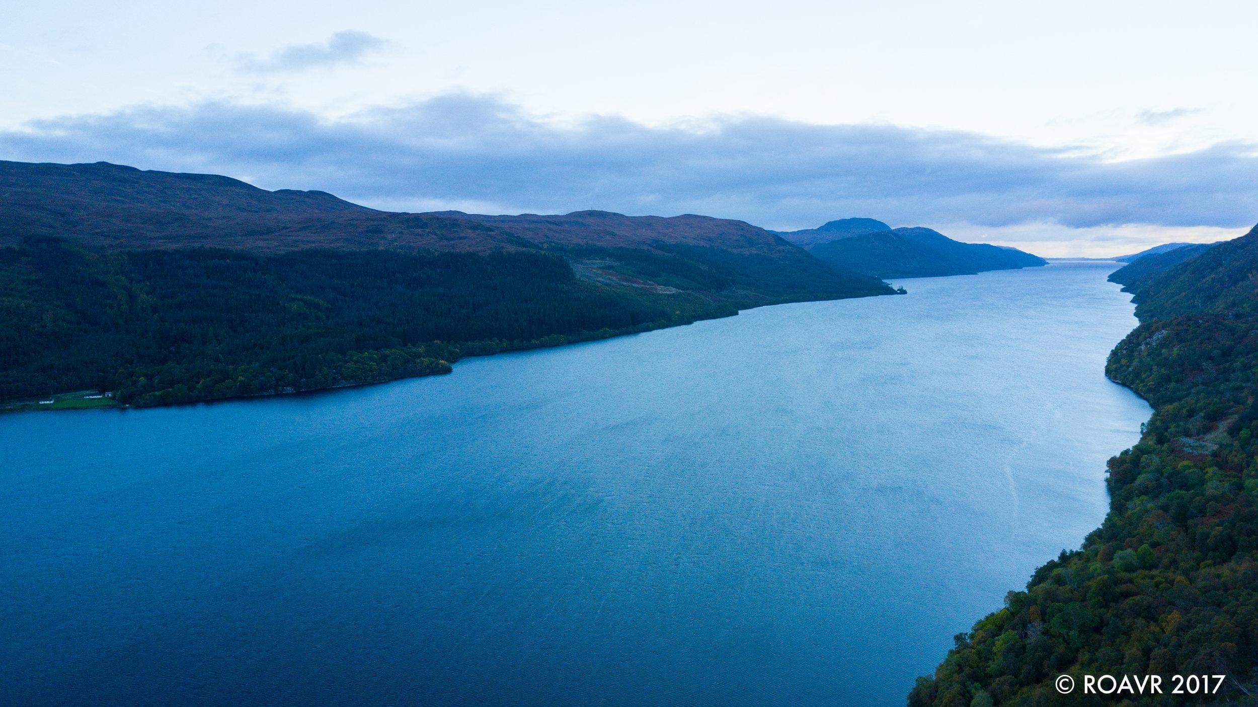 Loch Ness - Looking northeast.