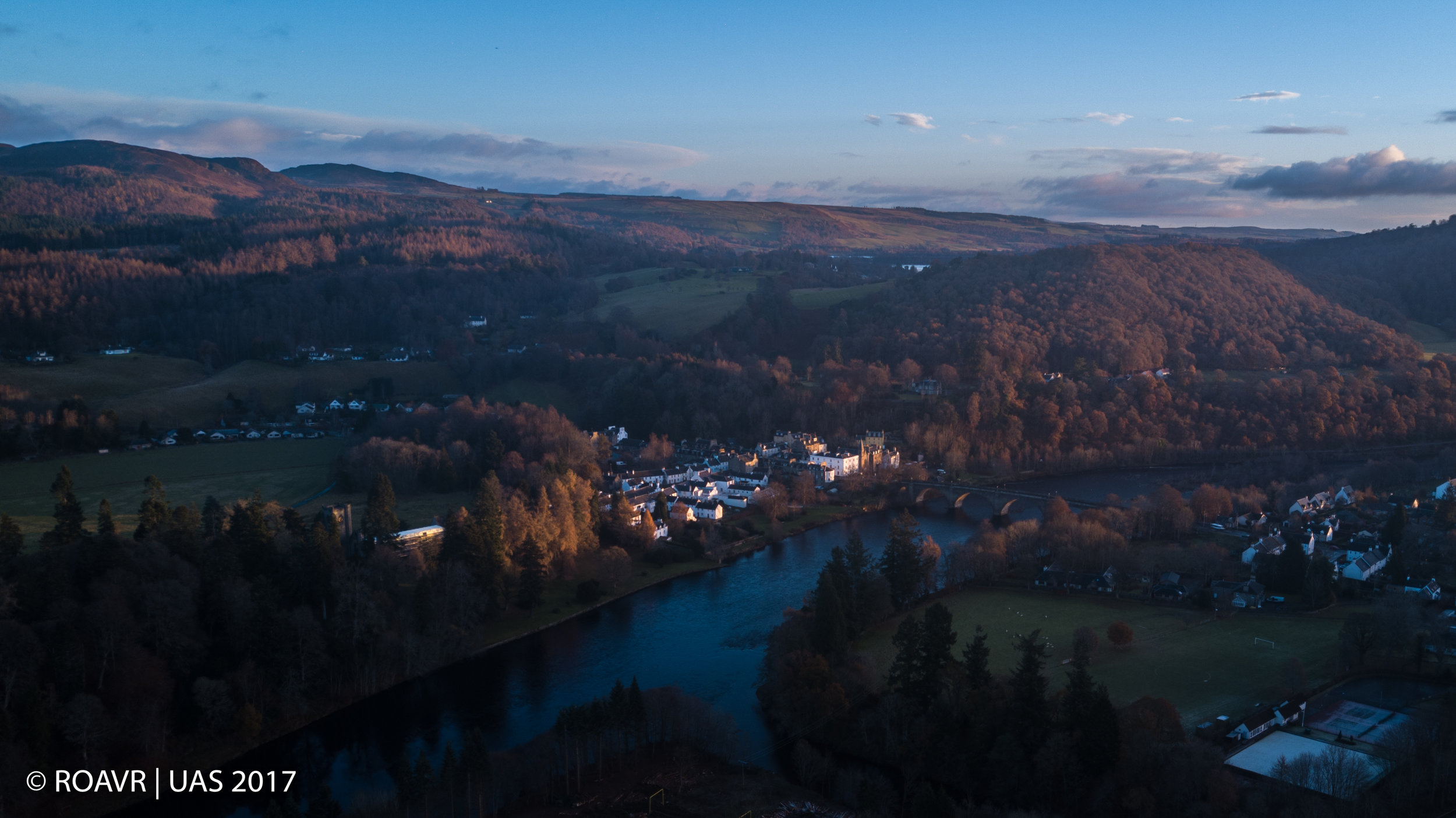 The River Tay at Dunkeld - November 2017