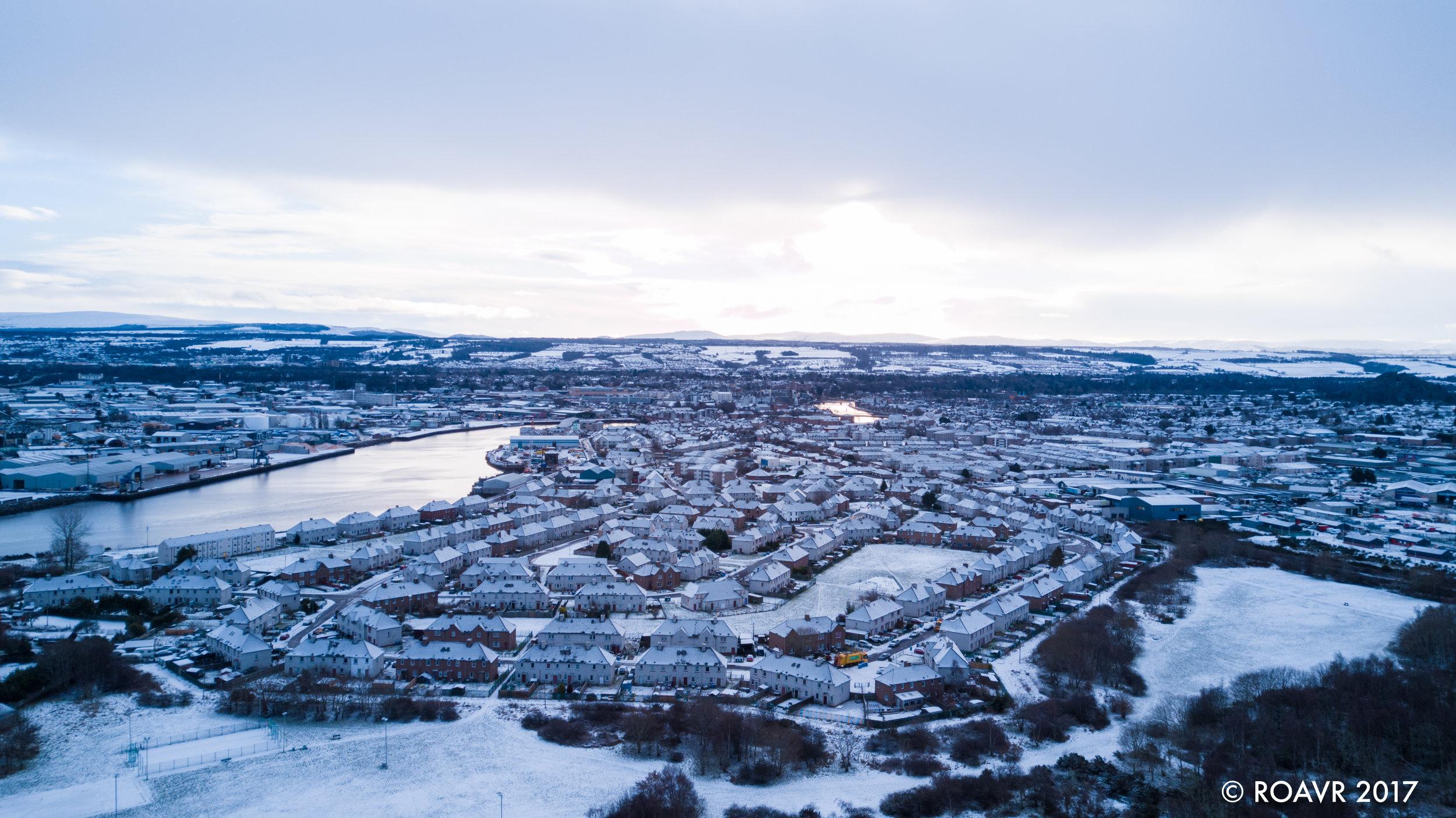 South Kessock - Inverness, January 2018