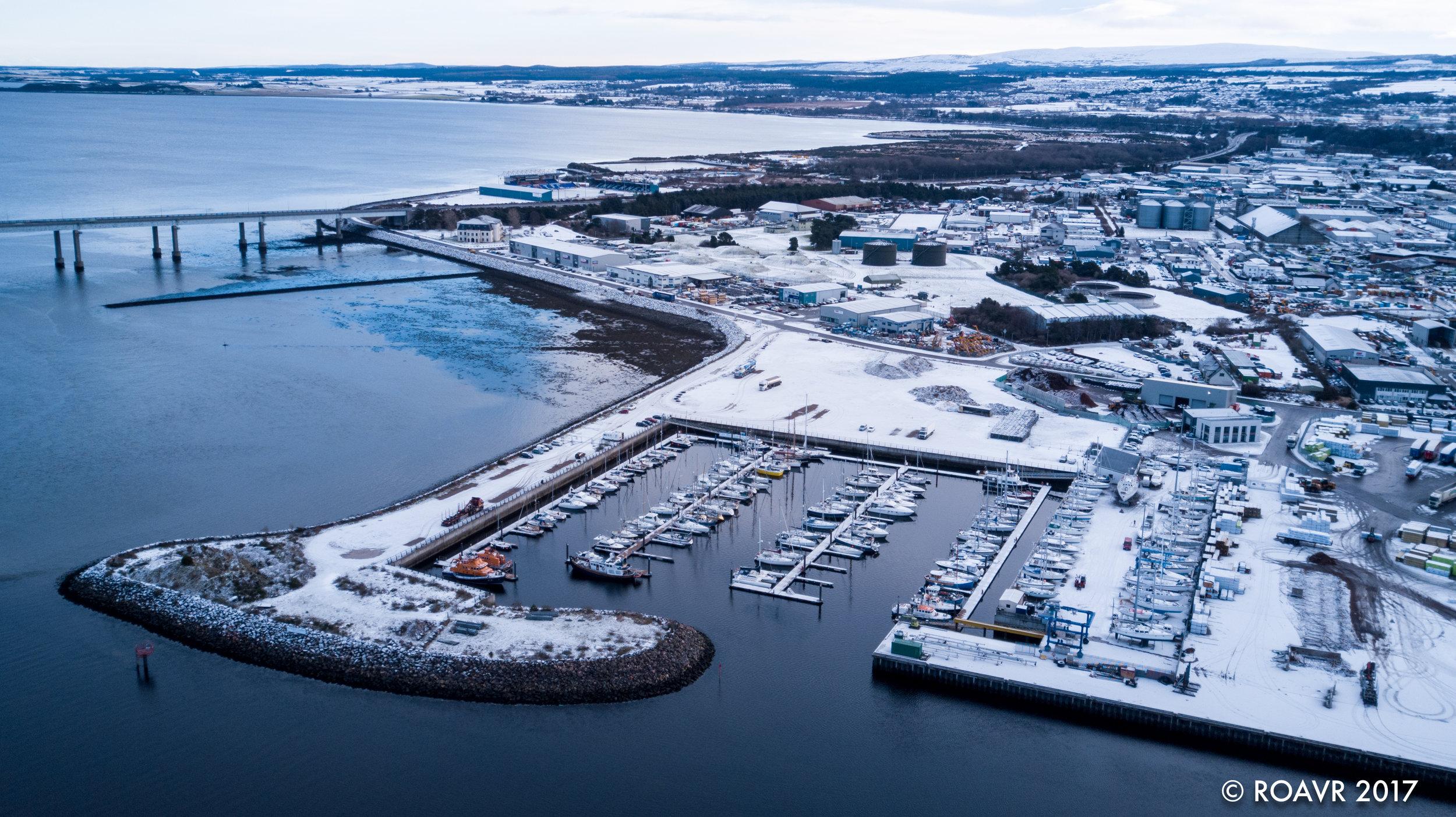 Inverness Marina - Inverness, January 2018