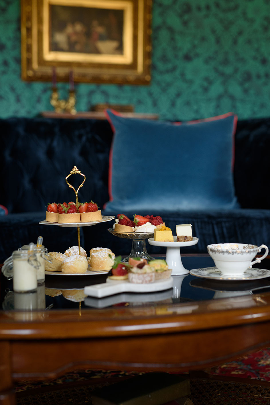 Afternoon tea in exclusive wedding venue meath