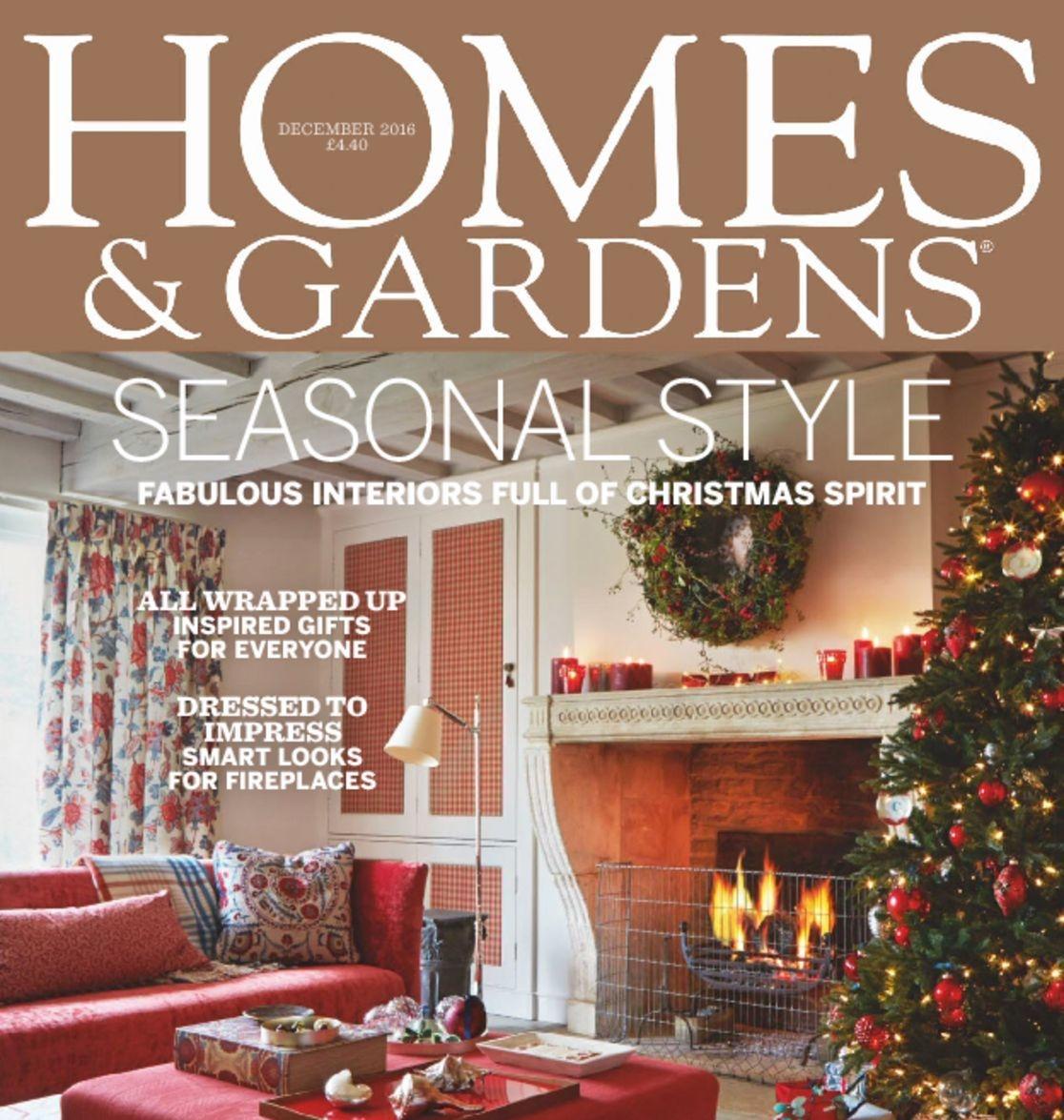 homes & gardens december 2016