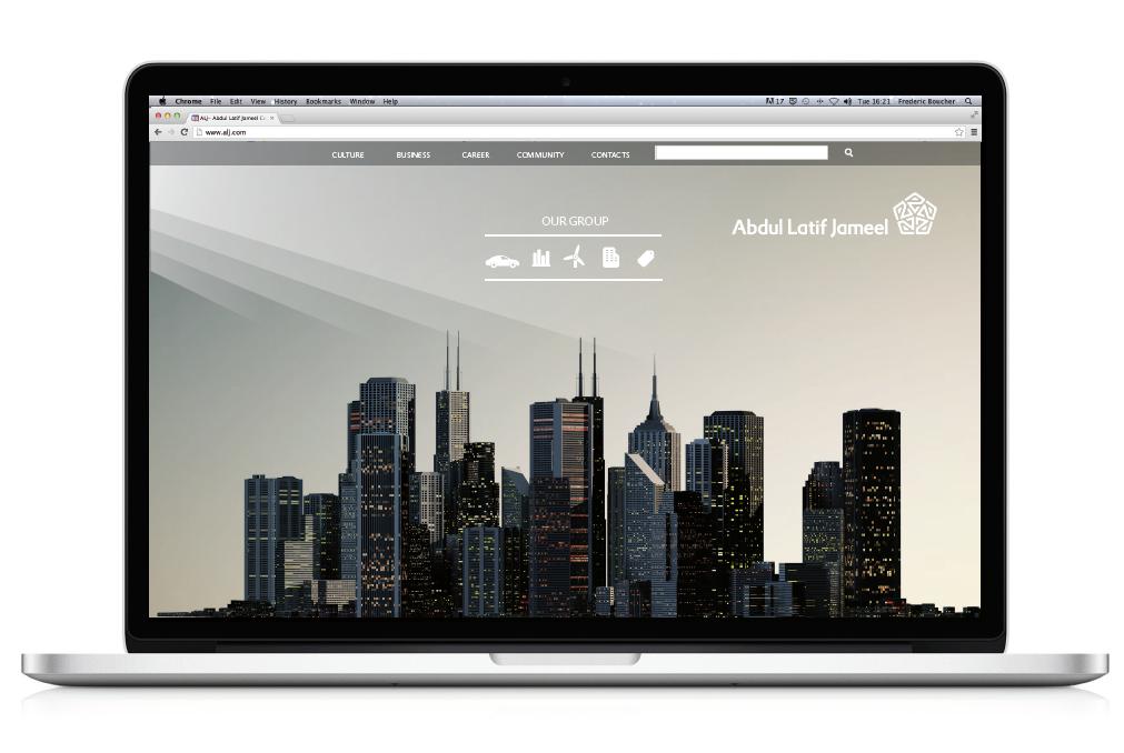 Homepage Destop vs Tablet