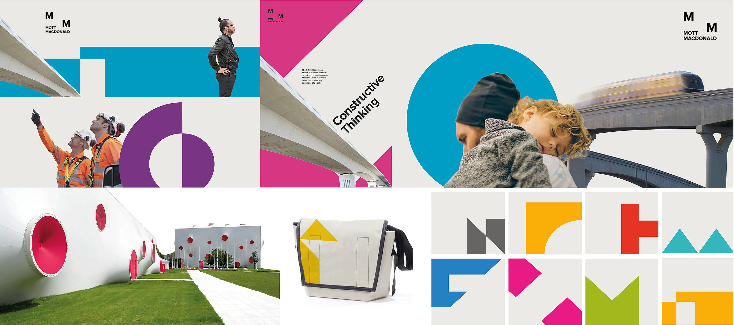 Overall brand identity and visual language