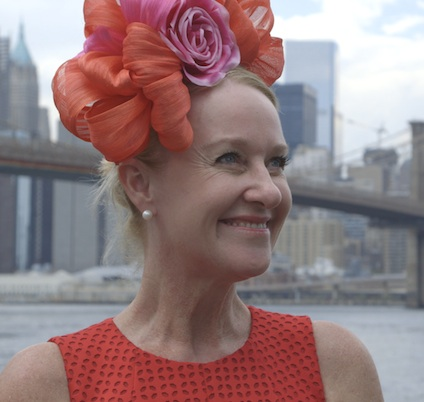 FELICITY 'FLIC' BROWN - MILLINER & STAR OF THE FILM  Outback Milliner spent her early life on a property in central NSW, travelling to The Kimberly in Western Australia, after school, where she began creating hats on remote outback cattle and sheep stations.   She now works in her studio in Broome, creating fabulous headwear, each piece a one-off, with feathers hand collected and pearls locally grown in the south sea waters near Broome. Her hats are seen locally at the annual Broome Races, a don't-miss event, around Australia and internationally.  As the  Milliner on the Move  she travels far and wide with her collections,  from remote cattle stations to inner Sydney homes. The ultimate destination has been New York for Fashion Week where she was very proud to be the first Australian Milliner to showcase a collection on the runway.