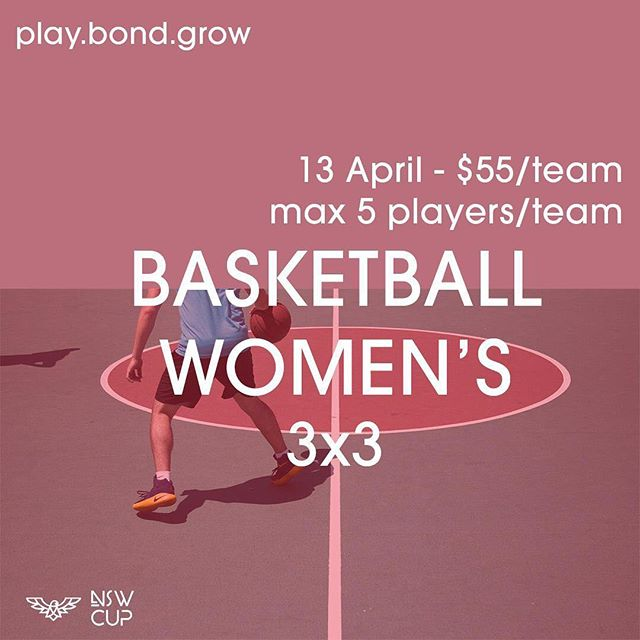 Play•Bond•Grow! Our annual event NSW CUP is coming this APRIL. Come show off your dunks and three pointers in this year's cup. Do you think you have what it takes? Register NOW through this website https://goo.gl/forms/WZNQwhy3E5PR6ocU2 or simply click the link in our bio🏀
