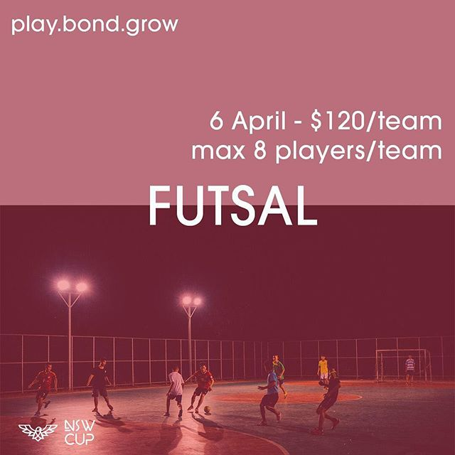 Play•Bond•Grow! Our annual event NSW CUP is coming this APRIL. Do you think you and your team have the guts to play on this year's cup? If you got what it takes then register your team to one of our most competitive competition out here https://goo.gl/forms/WZNQwhy3E5PR6ocU2 or click the link in our bio⚽️