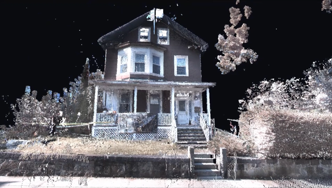 A sneak peak of the Malcolm X Ella Collins House Virtual Tour shown at the end of our story, 'The Bedrock of Roxbury.'