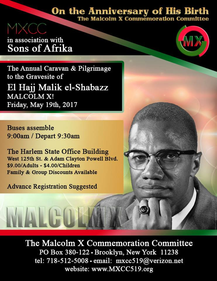 Citizens of Harlem gather on May 19th in recognition of Malcolm X. Students from all across the country visit New York every year on May 19th. This year Boston's very own New Mission High School makes the journey.