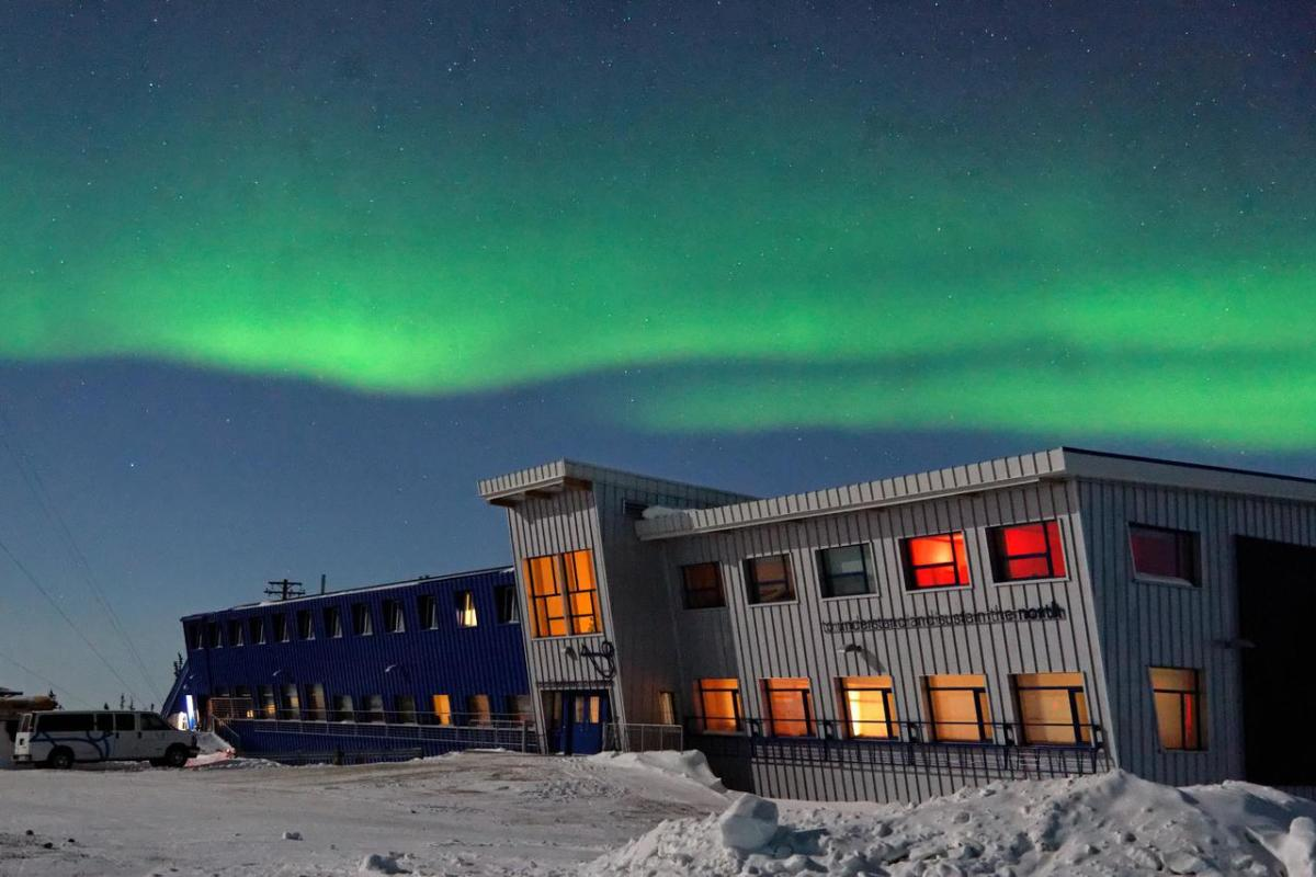 The  Churchill Northern Studies Center  located on the edge of Canada's Arctic (featured in this episode) is the Polar Bear and Beluga capital of the world also boasting 300 nights of Aurora Borealis.