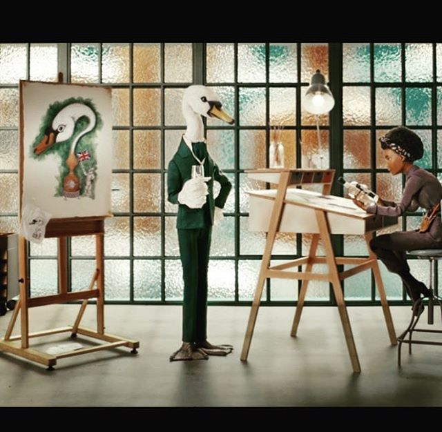 Shout out to the @sipsmith and @ogilvyuk team for their fantastic short stop animation centred around Mr Swan. The skilled craftsmanship behind the creation of the film style reflects the handcrafted dedication that goes into each bottle of Sipsmith.👏