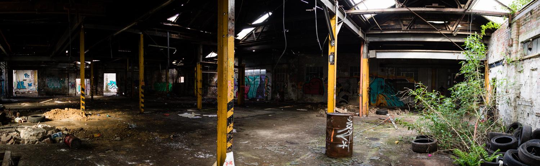 Abandoned Depot or Garage (Panoramic) // 01-05-17