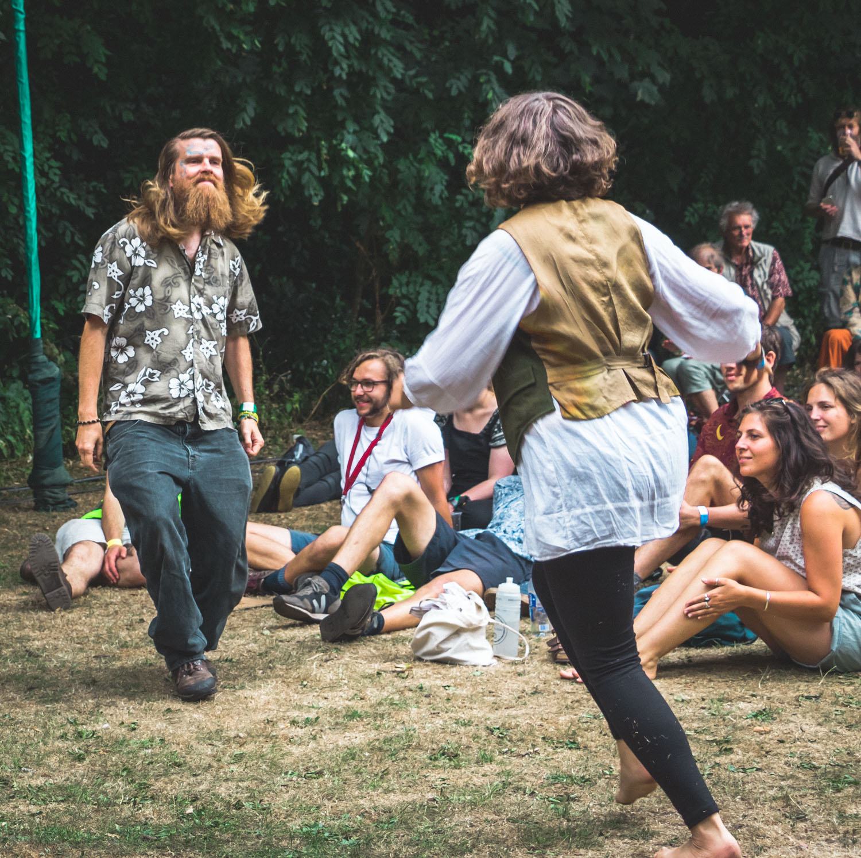 Folk Dancing at Tramlines/ Folk Forest // 21-07-18
