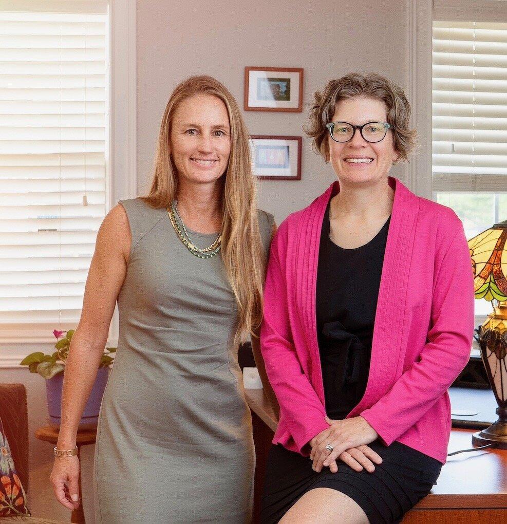 Attorneys Erin Martoglio & Paige Freitag