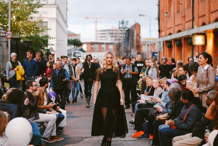 A fashion-led Belfast Design Week event produced by Jessica Fok at Culture Night Belfast 2016