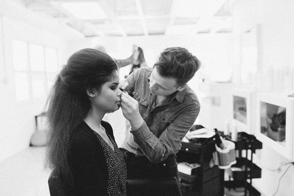 Salon Work -