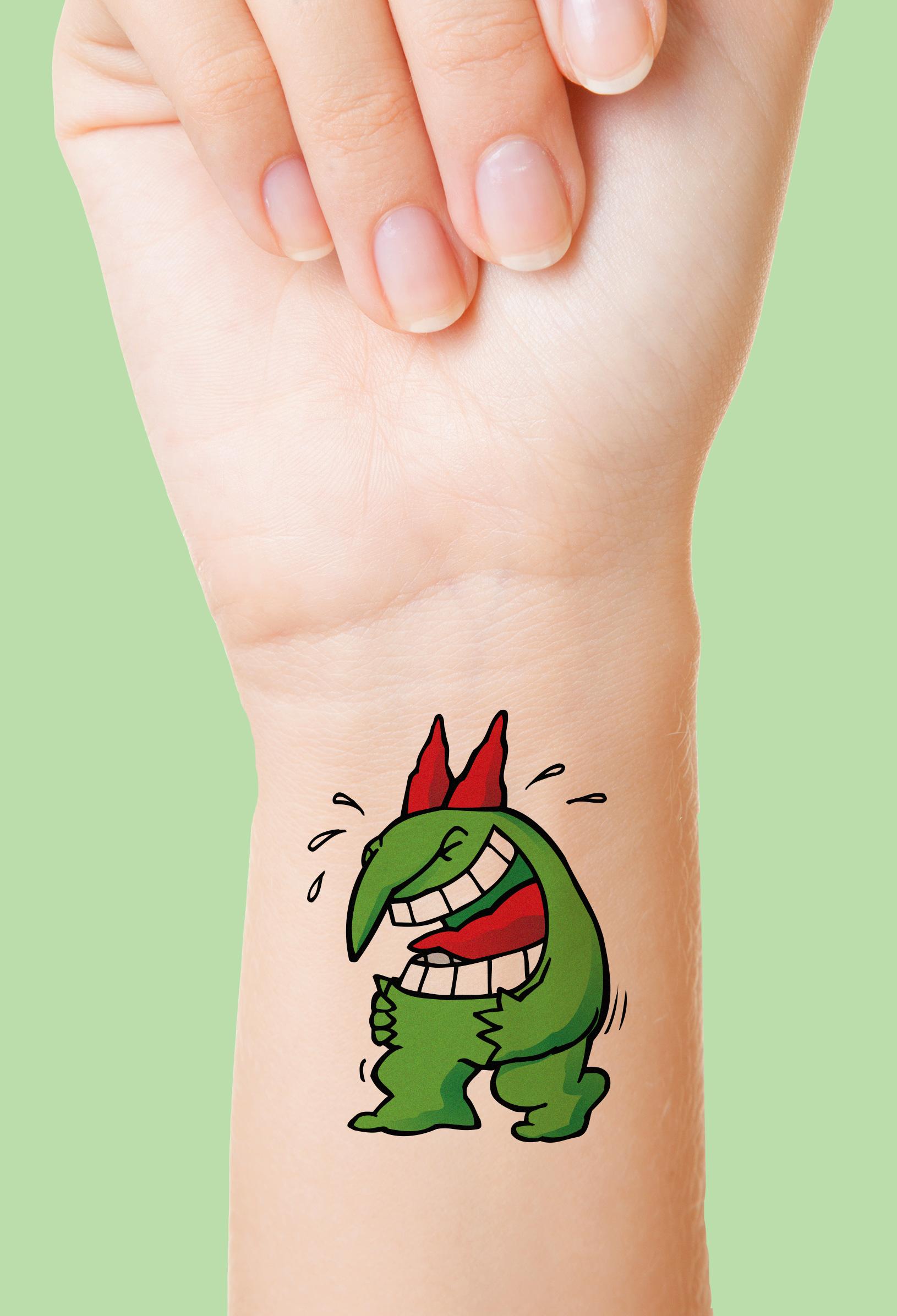 JUSTE POUR RIRE / Tattoo  Impression, promotion