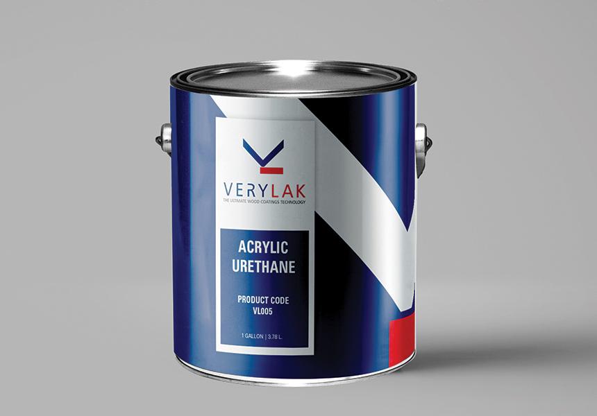 Étiquette pour gallon de peinture Verylak