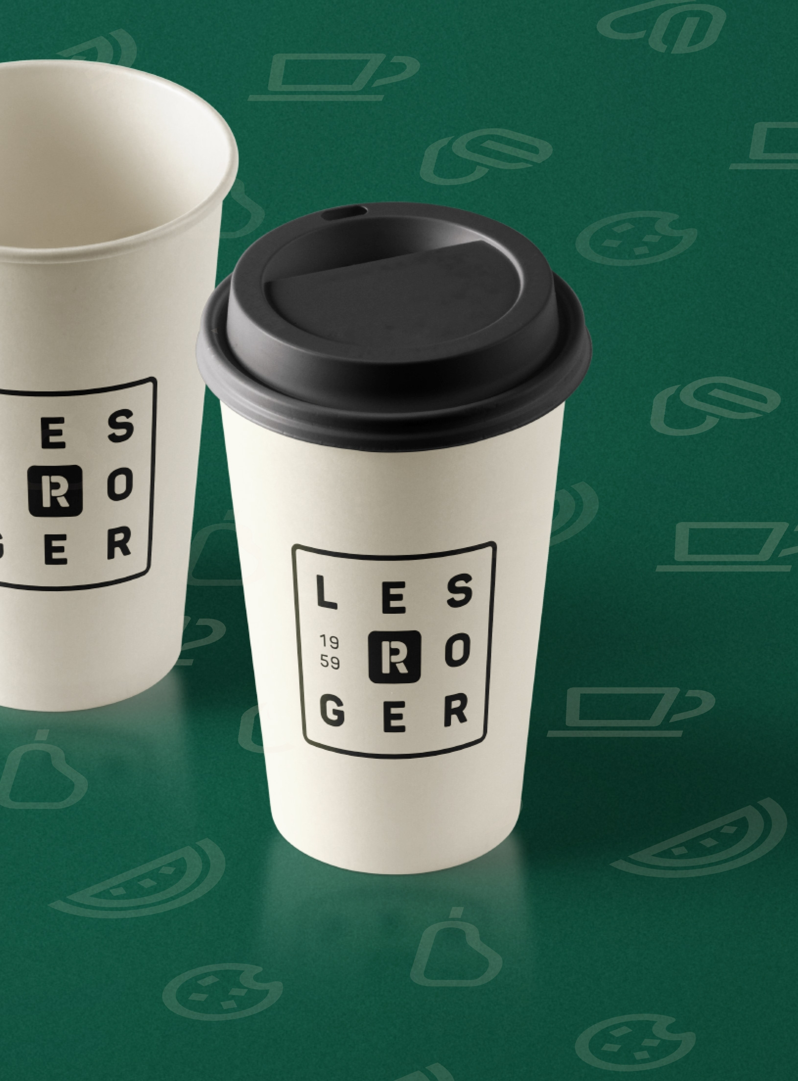 Gobelet à café Les Roger