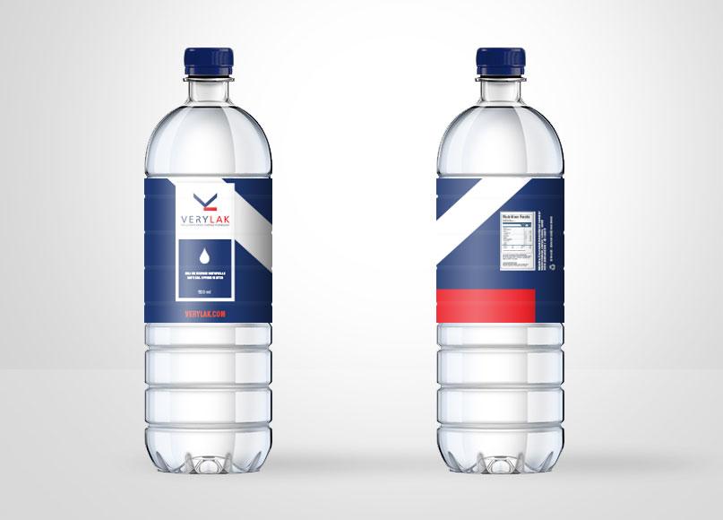 Étiquette de bouteille Verylak