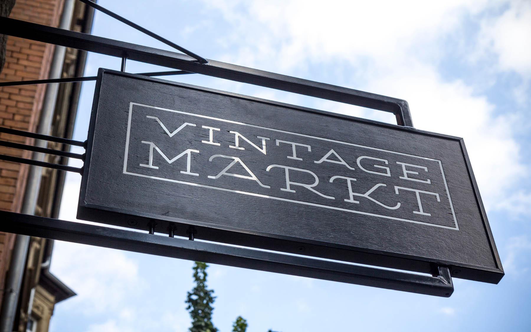 Vintage Markt Branding