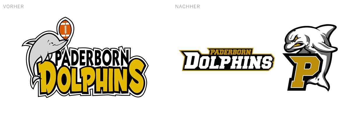 Aus der Regionalliga, dennoch auftretend wie eine ernste Gefahr: die  Paderborn Dolphins.