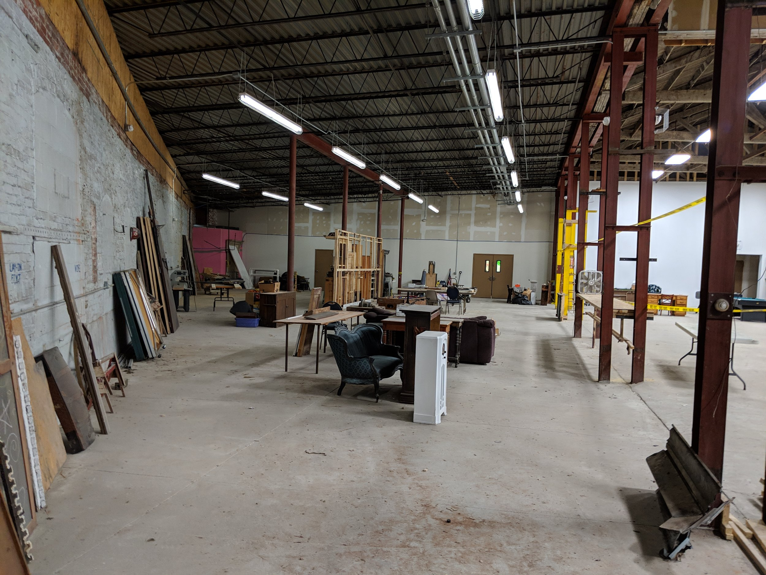 Picture provided by Boys & Girls club of Washington County, Future indoor activity space