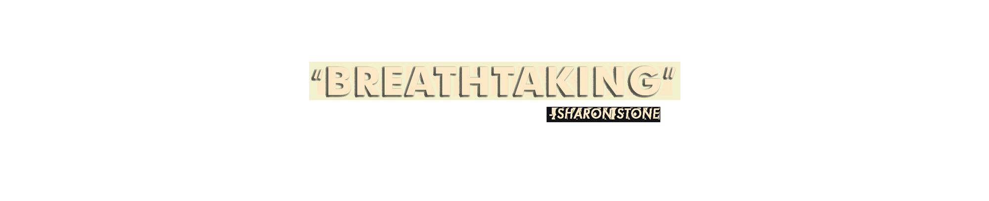 Sharon Stone breathtaking