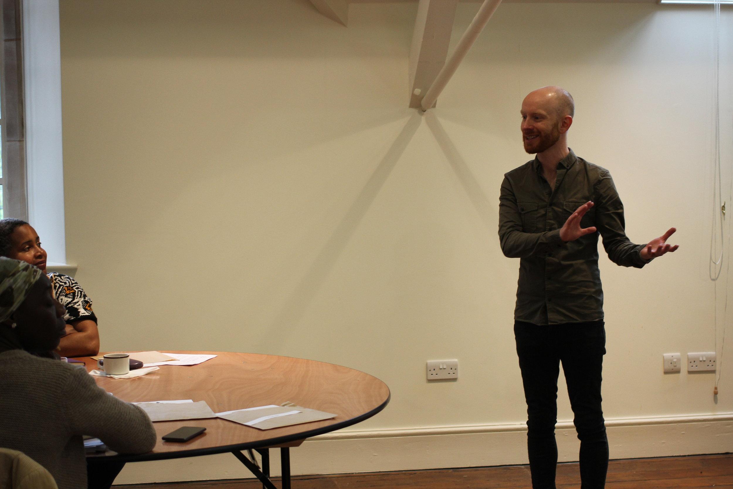 Jon Sanderson. Image by Inès Elsa Dalal