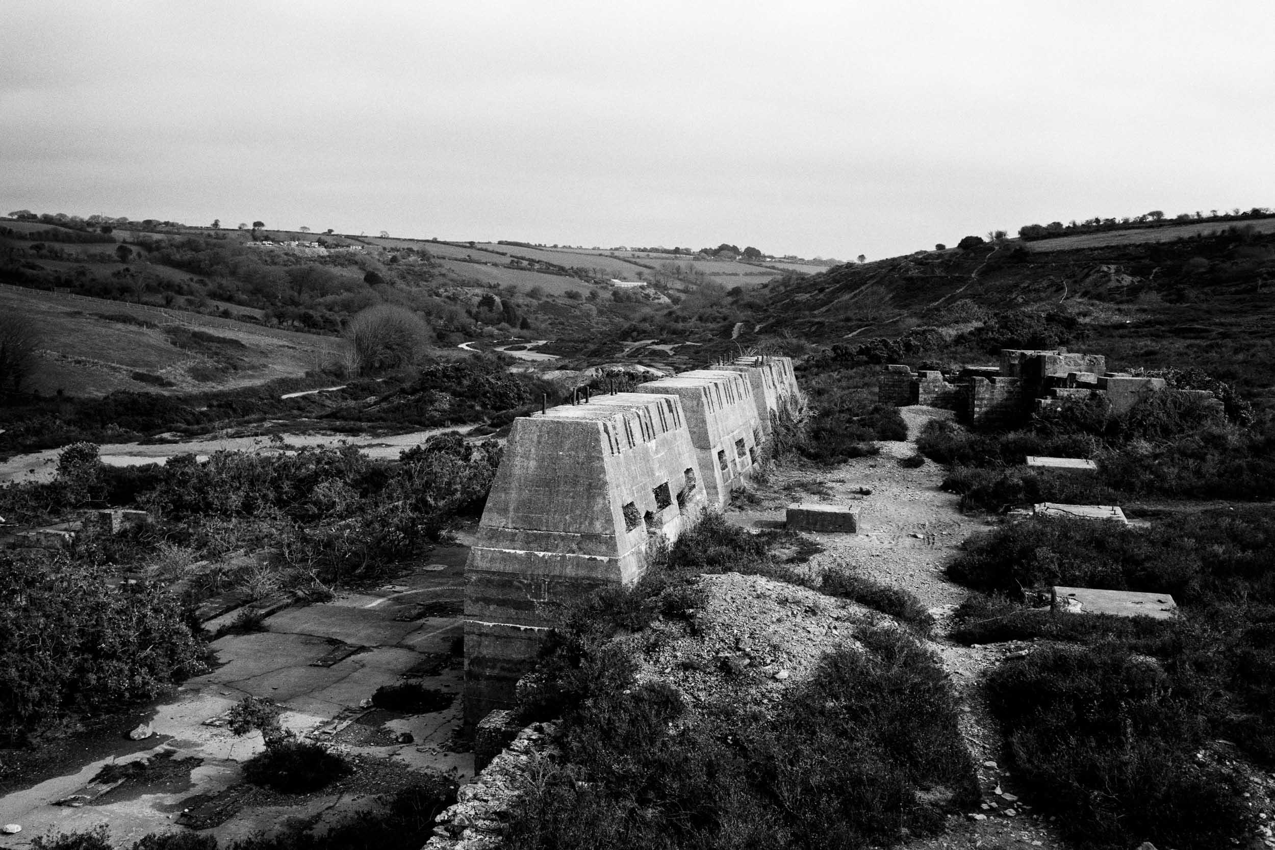 Abandoned Poldice Mine