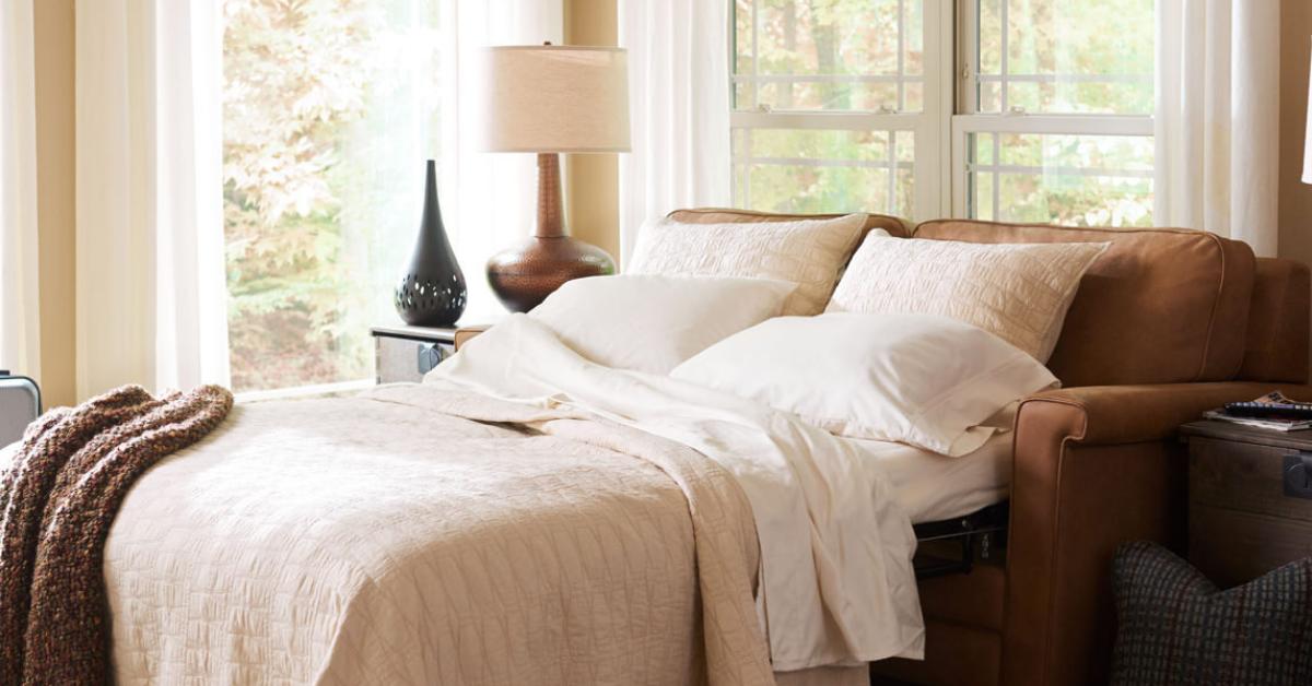 Amanda Premier Supreme Comfort™ Queen Sleep Sofa