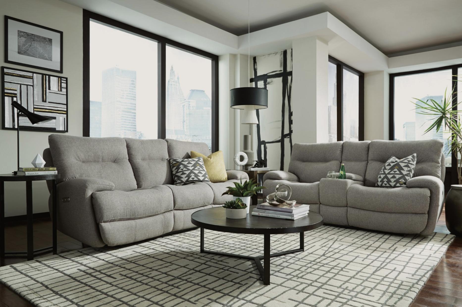 Flexsteel Gray Sofas
