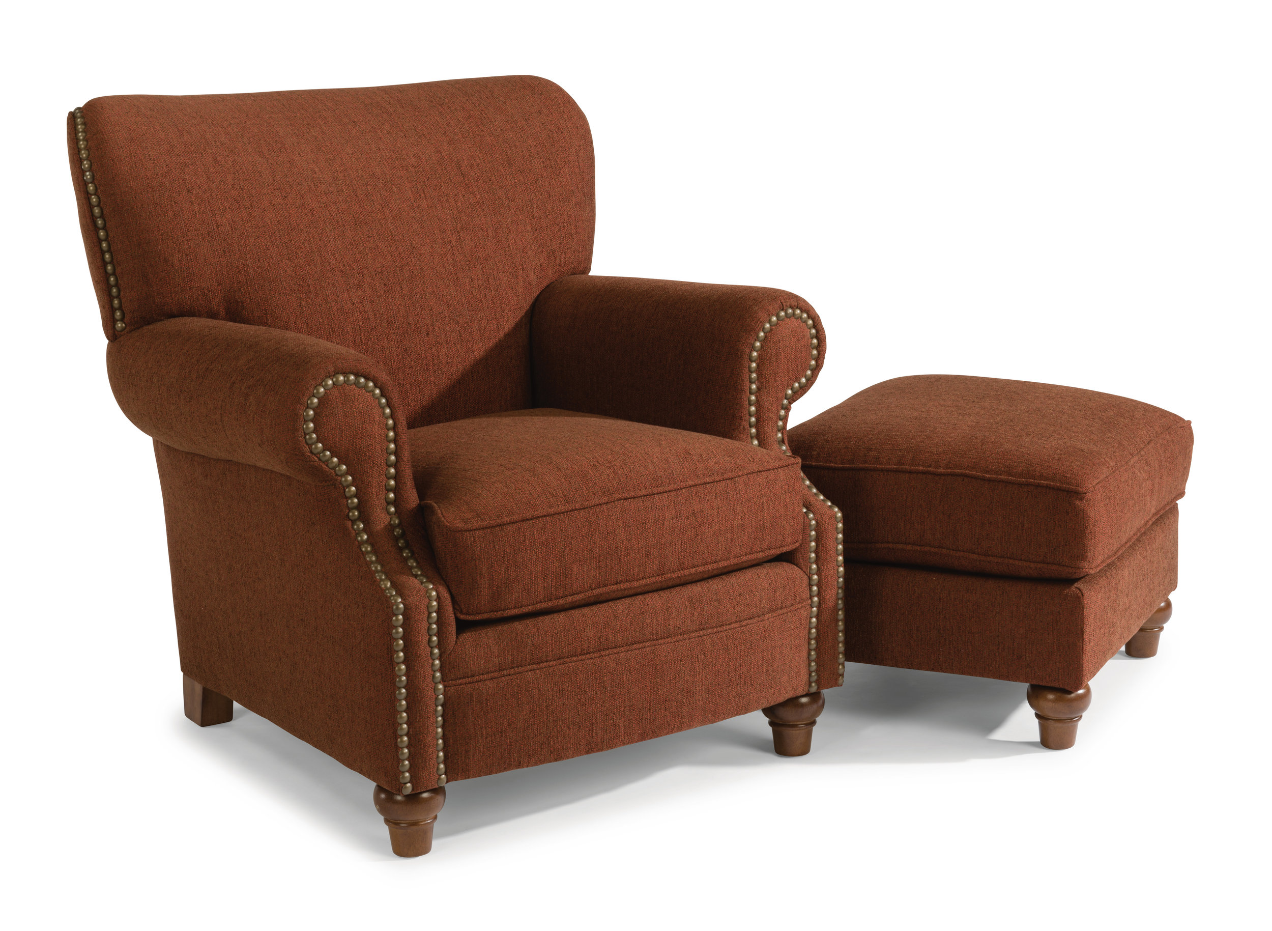 Killarney Chair & Ottoman by Flexsteel