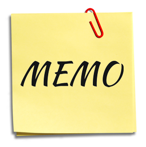 Memo's From Your Child